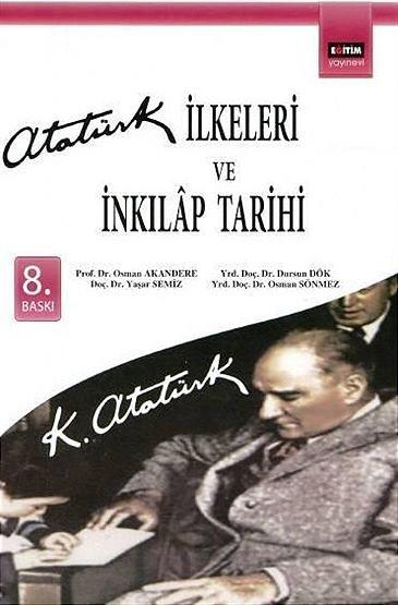 """""""Atatürk İlkeleri ve İnkılap Tarihi"""""""
