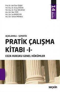 """""""Ceza Hukuku Genel Hükümler, Pratik Çalışma Kitabı 1"""""""