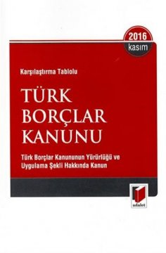 Türk Borçlar Kanunu