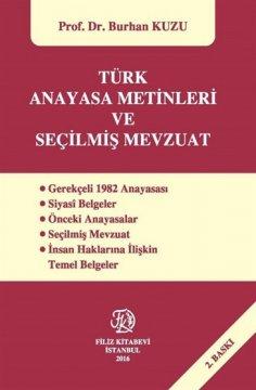 Türk Anayasa Metinleri ve Seçilmiş Mevzuat