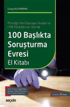 100 Başlıkta Soruşturma Evresi El Kitabı