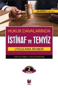 Hukuk Davalarında İstinaf ve Temyiz Uygulama Rehberi